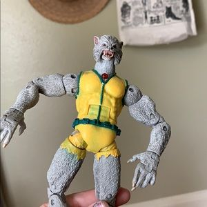Vintage howling wolf man 2006 action figure